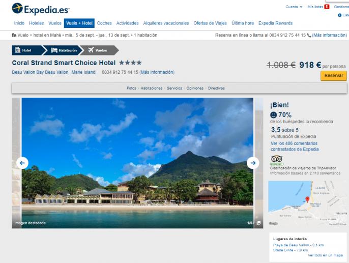 vacaciones en seychelles