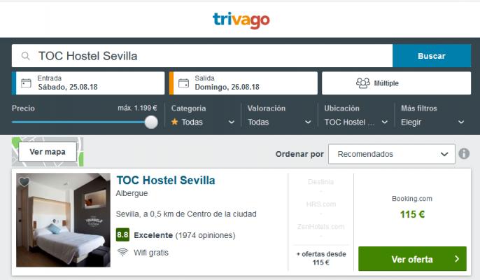 hostel en Sevilla