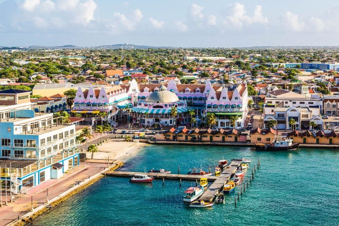 Colorful Oranjestad Aruba iStock_000054802770_Large-2