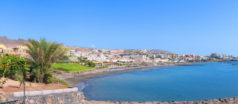 Panoramic view of Costa Adeje bay of Tenerife island (Canaries)_shutterstock_12976426_small