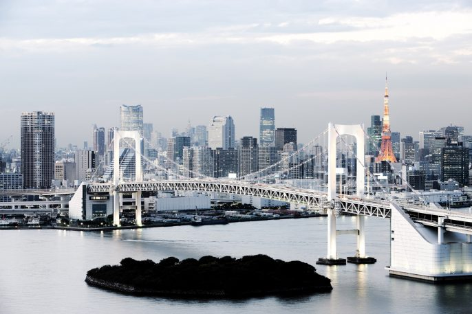 Rainbow Bridge Tokyo iStock_000015486929_Large