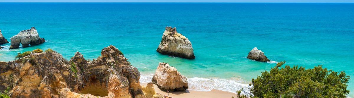 Praia tres irmaos – Beautiful coast of Algarve – Portugal