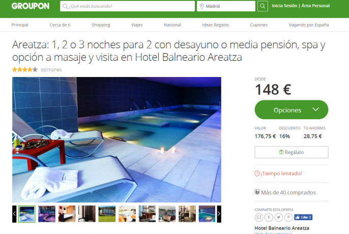 hotel en país vasco