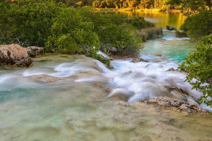 view over the spanish national park Lagunas de Ruidera_511235065