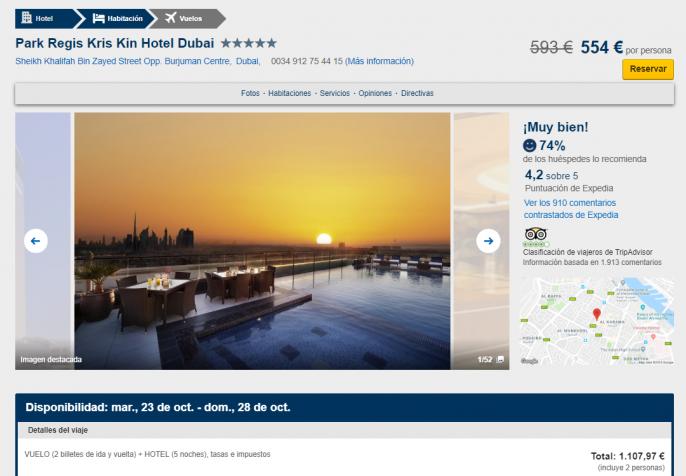 vacaciones de lujo en dubái
