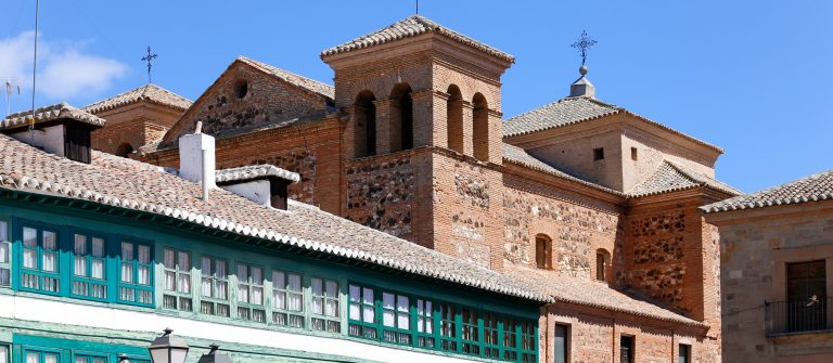Church-in-the-town-of-Almagro-in-Ciudad-Real-Spain_415925614