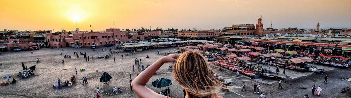 Jamaa-el-Fna-market-Marrakech-at-sunset-shutterstock_smaller_458611342-2