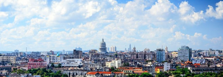 Panoramic view of Havana
