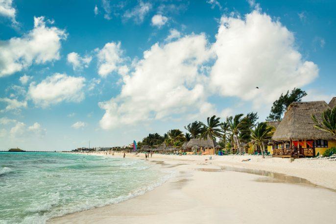 Playa Del Carmen Beach, Mayan Riviera Hotels near Cancun, Mexico
