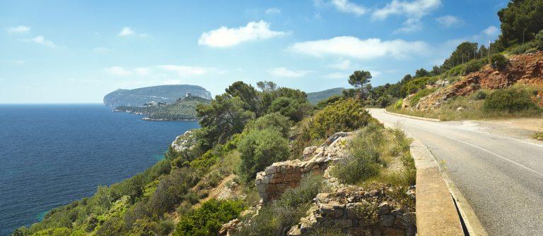 Road to Capo Caccia