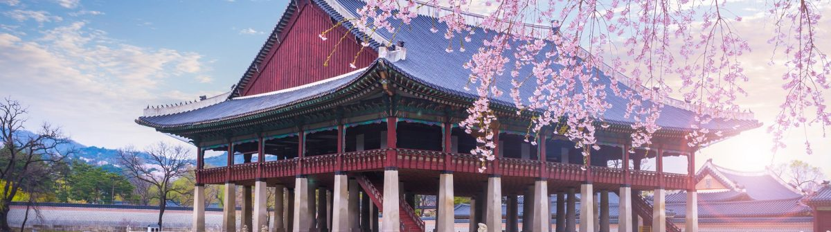 gyeongbokgung-palace-in-spring-South-Korea._shutterstock_387094399