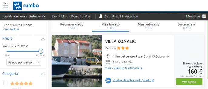 escapada Dubrovnik