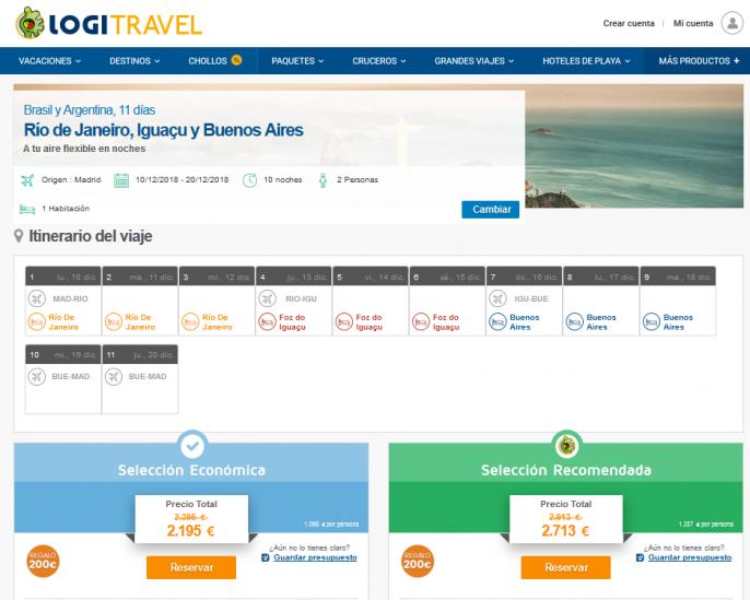 viaje a Brasil y Argentina