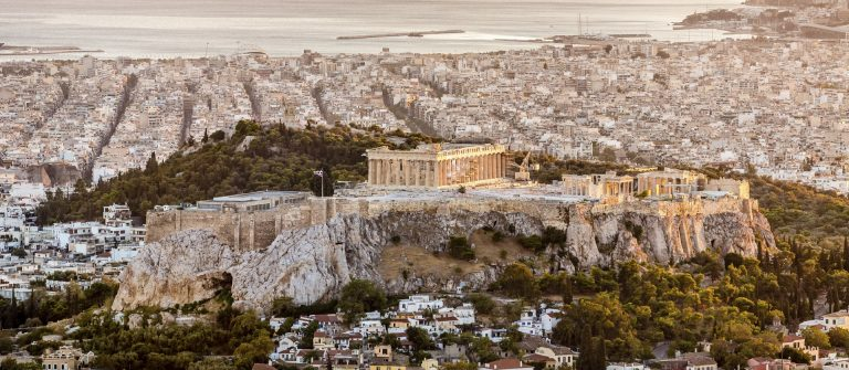 Athens-Acropolis-at-Sunset-Greece-iStock_000043774360_Large