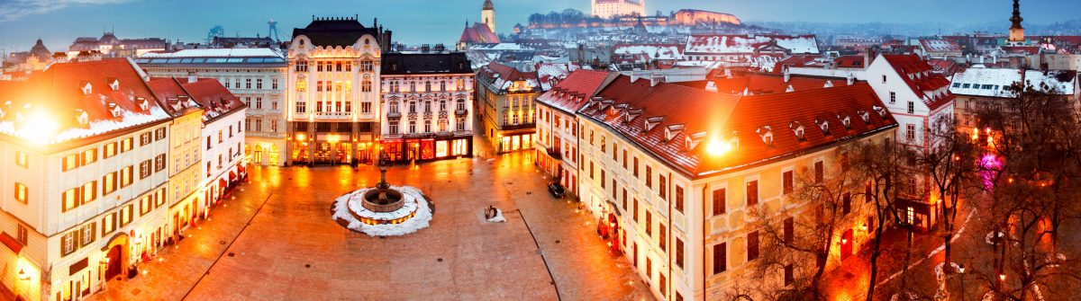 Bratislava panorama – Slovakia – Eastern Europe city