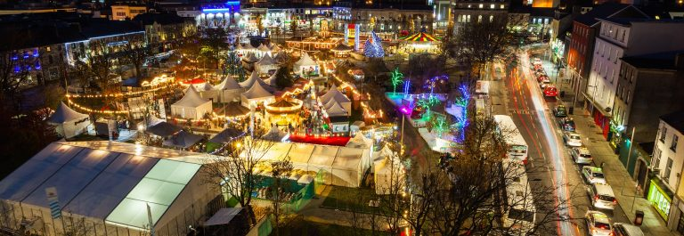 Christmas-market-in-Galway-at-night-panoramic-view-from-high-point.-shutterstock_172122452
