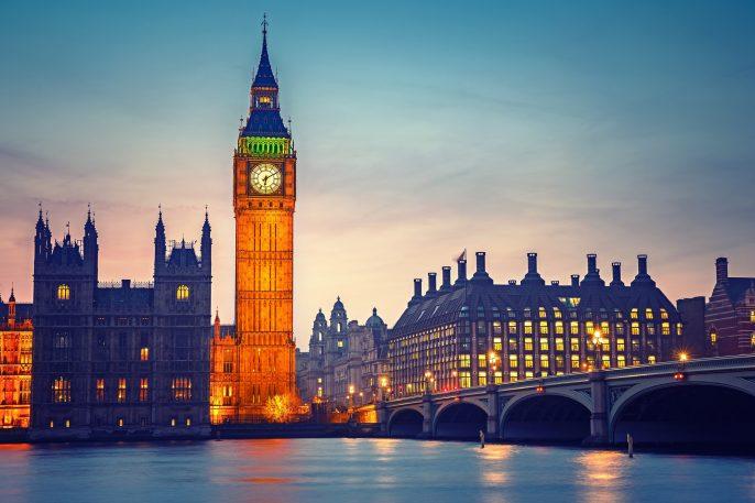 Big Ben and westminster bridge , London