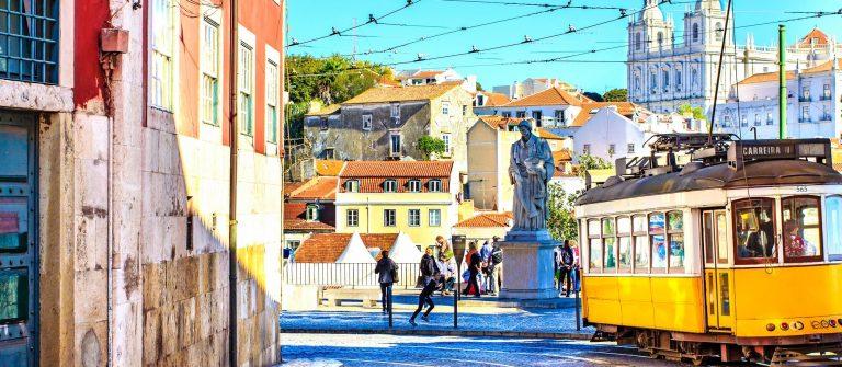 Lisbon downtown