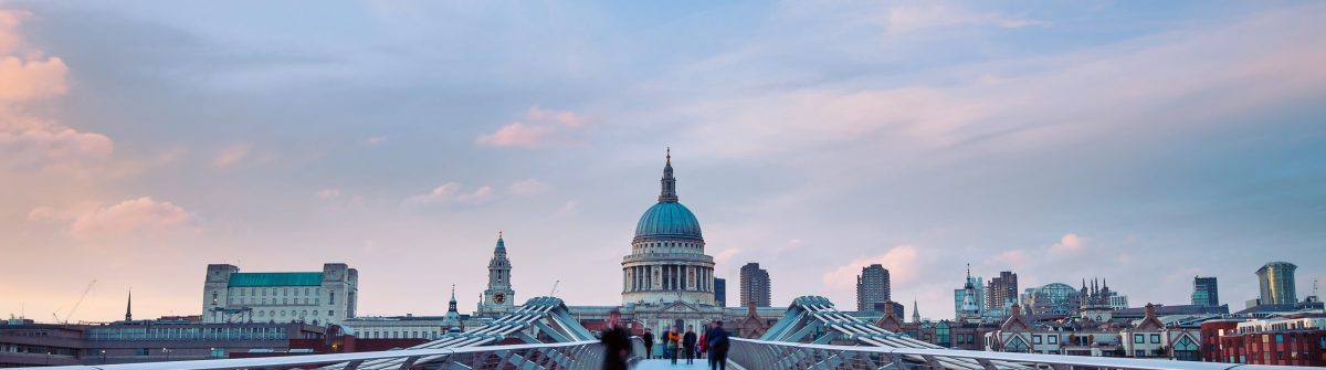 People-walking-over-Millennium-bridge-at-dusk.-St-Pauls-cathedral-in-the-background._shutterstock_139121636-Copy