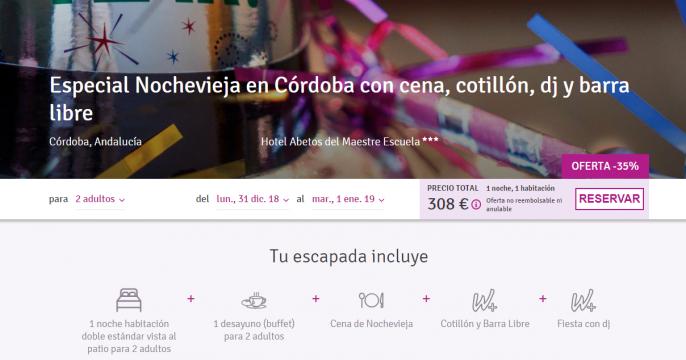 Nochevieja en Córdoba