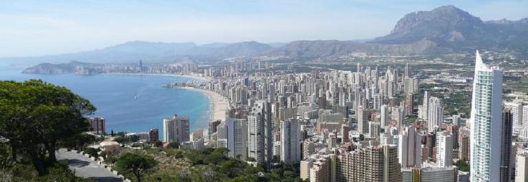 Valencia panoramic city