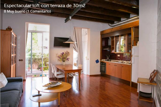 loft con terraza barcelona