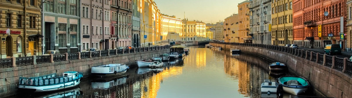 Moyka river in St.Petersburg