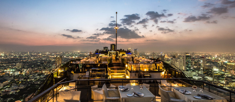 View from the top of Vertigo Bar Bangkok Thailand shutterstock_172455755 EDITORIAL ONLY Sanchai Kumar-2