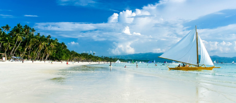 boracay island white beach paraw