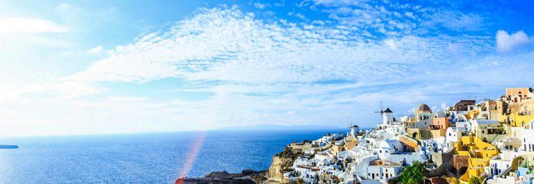 Sanorini skyline, Greece iStock_000085970355_Large-2