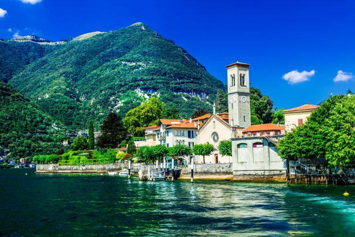 scenery of Lago di Como – Torno, Italy