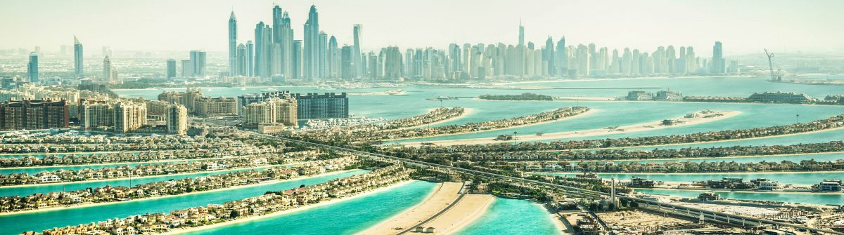 The Palm Jumeirah, Dubai, UAE
