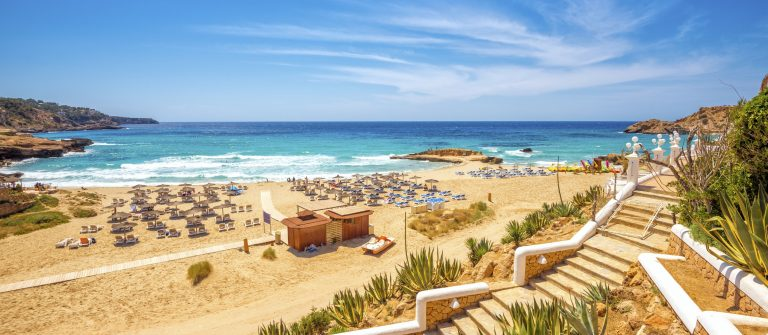 View on pre-seasonal Cala Tarida (Ibiza) iStock_000062745536_Large