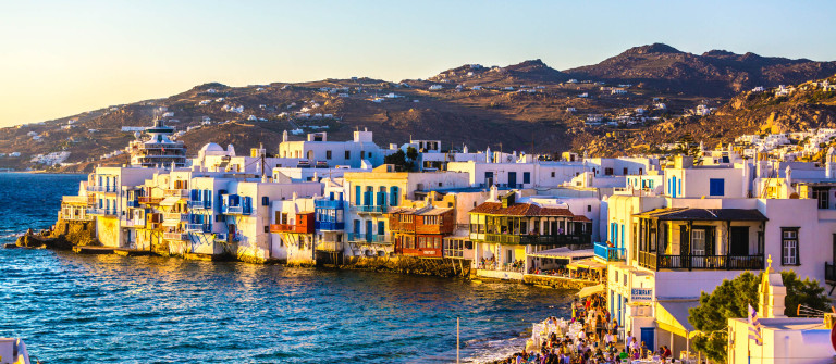 Little Venice of Mykonos Greece iStock_000044366116_Large-2