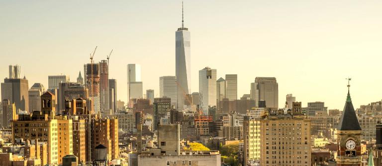 New York City Skyline Sunset iStock_000064988931_Large-2