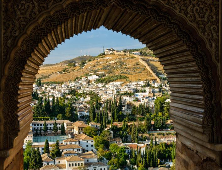 Albaicin, the Arabic district of Granada, Spain