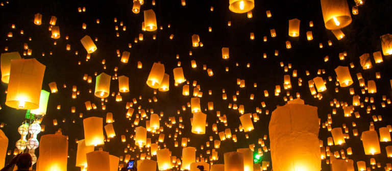 Loy Krathong celebrations, Thailand