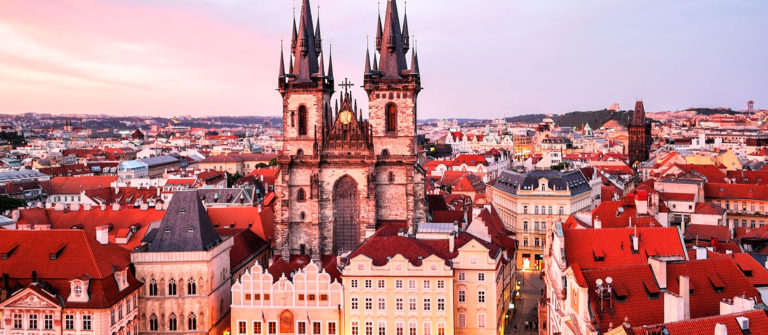 Prague. Tyn Church of Our Lady