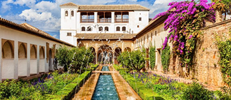 The Generalife of Alhambra de Granada