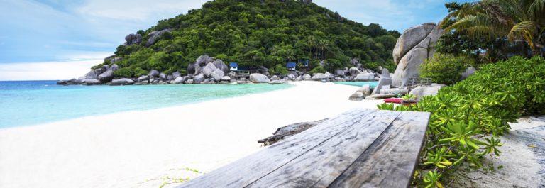Relaxing on Koh Nang Yuan