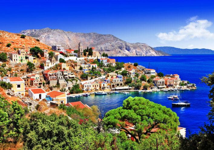 beautiful Greek islands – Symi, Dodecanese
